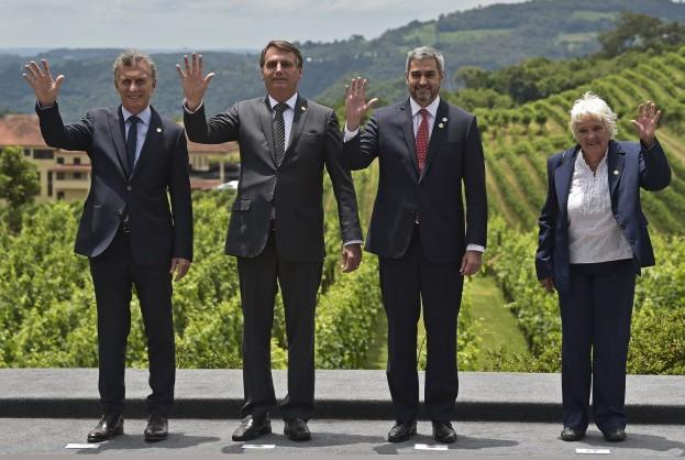 Bolsonaro passa presidência do Mercosul para o Paraguai | Bahia tempo real