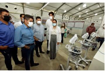 Hospital de Campanha na Paralela já atende pacientes com coronavírus nesta terça (12)