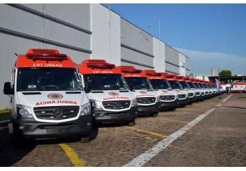 Mais de 860 ambulâncias novas vão reforçar Samu