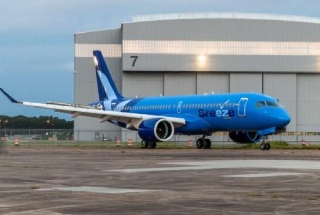 Breeze Airways compra mais 20 aviões A220   Bahia tempo real