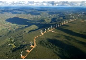 Bahia gera 31% de energia eólica do país nos 1ºs. meses do ano
